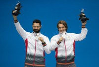 Podio Plata Jon y Miguel Pyeongchang