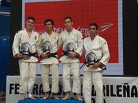 Podio Copa de España de Judo Getafe