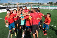 Celebración de la Victoria del Equipo de España