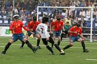 Jugada de la selección española