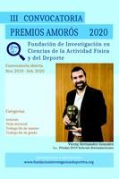 Póster Premios Amorós