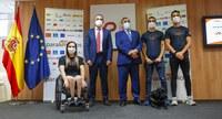 Acto de presentación del listado oficial de deportistas paralímpicos que irán a Tokio 2020